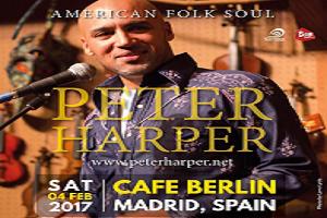 Peter Harper en Berlín Café (Madrid)