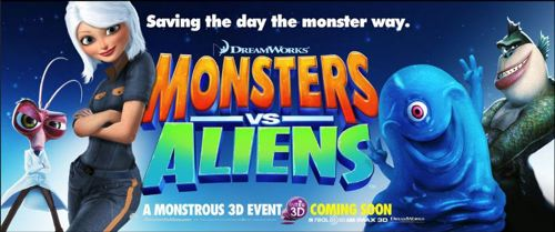monsters vs aliensntd Crítica: MONSTRUOS CONTRA ALIENÍGENAS (MONSTERS vs ALIENS), de Rob Letterman y Conrad Vernon
