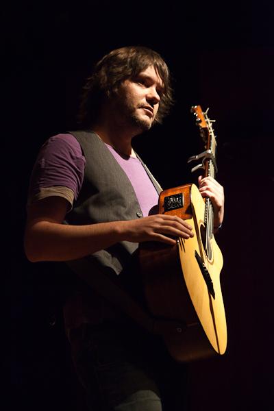 Luis Ramiro en la Sala Borja