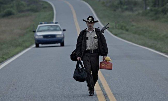 rickgrimes The Walking Dead: primeras imágenes
