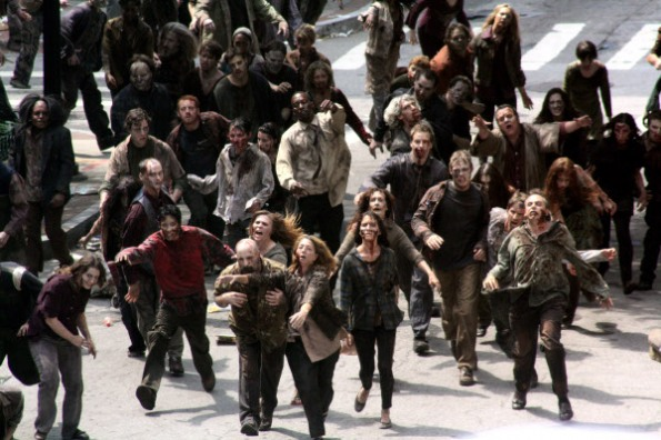 walking dead backstage1 The Walking Dead: primeras imágenes