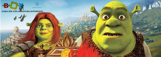 Shrek. Felices para siempre...