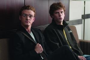 Justin Timberlake y Jesse Eisenberg en 'La red social'