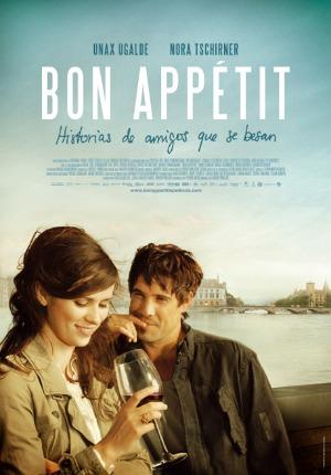 Cartel de 'Bon appetit: historia de amigos de que se besan'