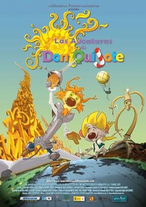 Cartel de 'Las aventuras de Don Quijote'