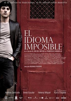 Cartel de 'El idioma imposible'
