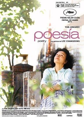 Cartel de 'Poesía'