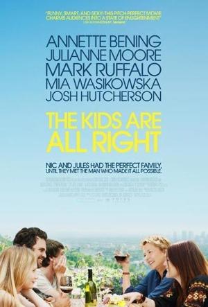 Cartel de 'The kids are all right'