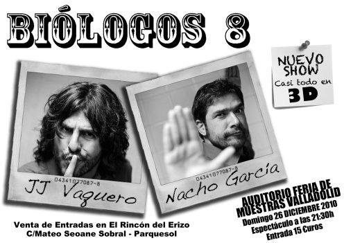 Biólogos 8: JJ Vaquero y Nacho García