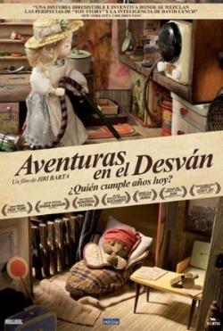 Cartel de Aventuras en el Desván