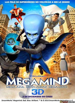 Cartel de 'Megamind'