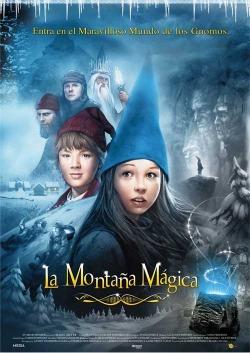 Cartel de La Montaña Mágica