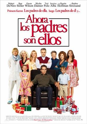 Cartel de 'Ahora los padres son ellos'
