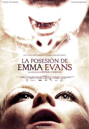 Cartel de 'La posesión de Emma Evans'
