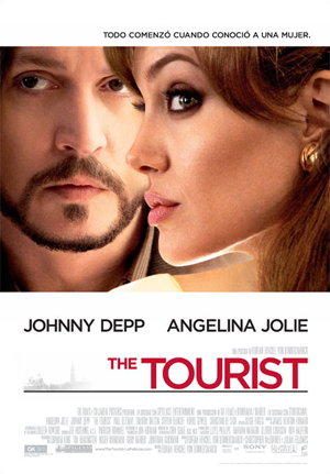 Cartel de 'The tourist'