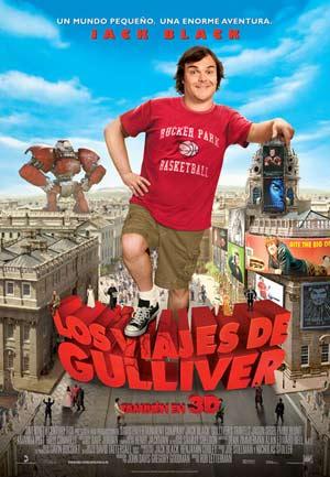 Cartel de 'Los viajes de Gulliver'