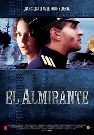 Cartel de 'El almirante'