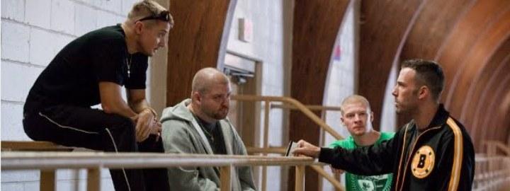 Jeremy Renner, Albert 'Gloansy' Magloan, Desmond Elden y Ben Affleck en 'The Town'