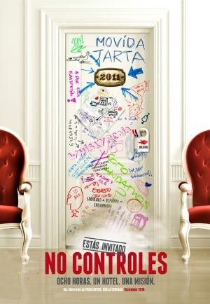 Cartel de 'No controles'