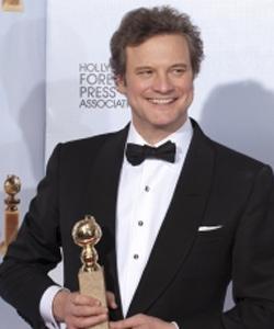 Colin Firth, Globo de Oro por 'El discurso del Rey'