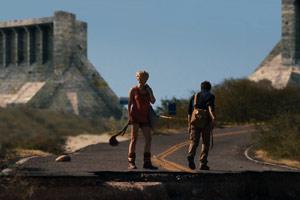 Sam y Kaulder, frente a la frontera en Monsters