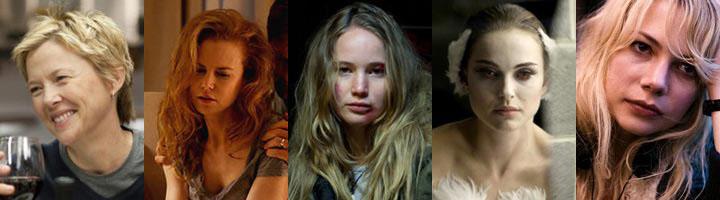 Nominadas Mejor Actriz - Oscar 2011