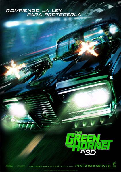Cartel de The green hornet