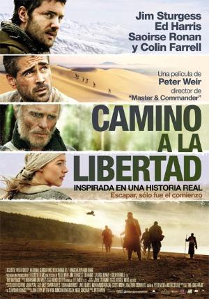 Cartel de 'Camino a la libertad'