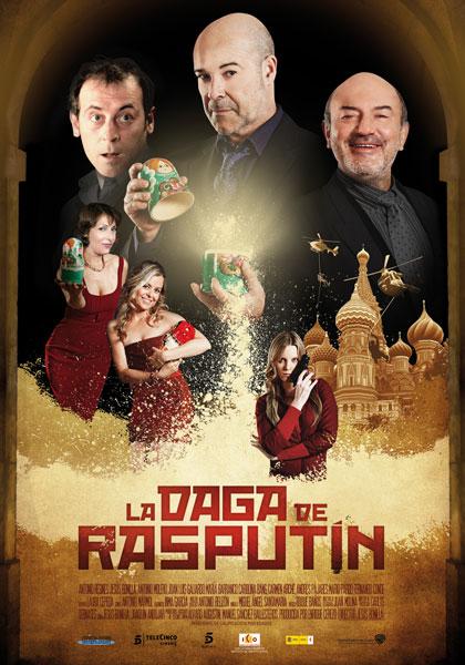 Cartel de La daga de Rasputín