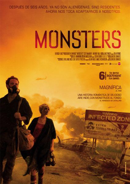 Cartel de 'Monsters'
