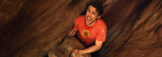 James Franco en 127 horas, de Danny Boyle