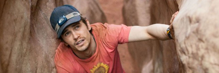 James Franco en 127 horas, de Danny Boyle