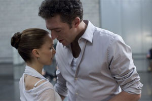 Natalie Portman y Vincent Cassel en Cisne Negro