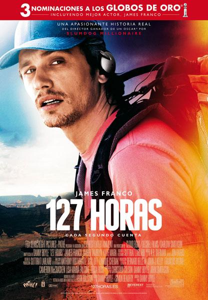 Cartel de '127 horas'