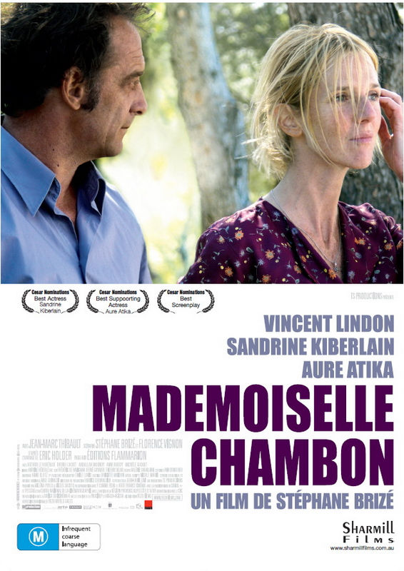 Cartel de 'Mademoiselle Chambon'
