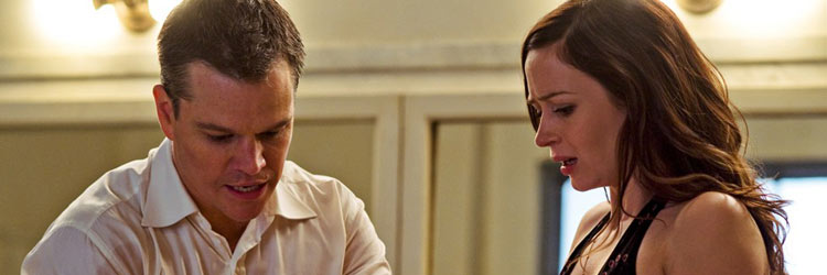 Matt Damon y Emily Blunt en 'Destino Oculto'