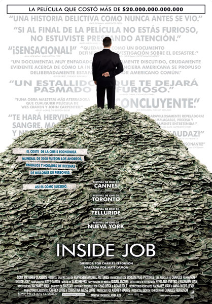 Cartel de Inside Job