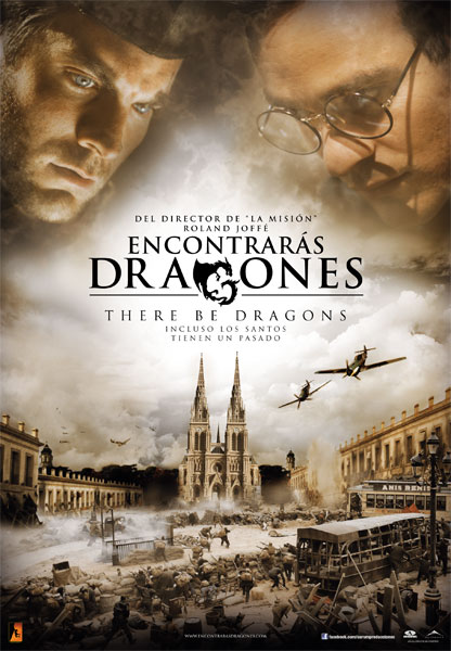 Cartel de Encontrarás dragones