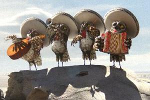 Los mariachis de Rango