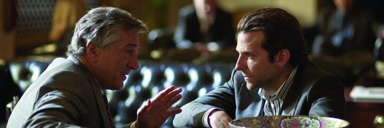 Sin límites - Robert de Niro y Bradley Cooper