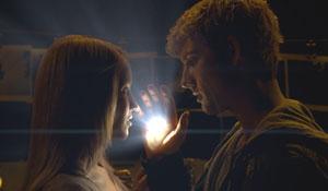 Dianna Agron y Alex Pettyfer