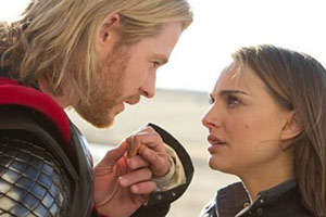 Chris Hemsworth y Natalie Portman