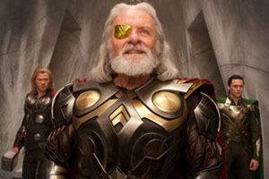 Anthony Hopkins en Thor