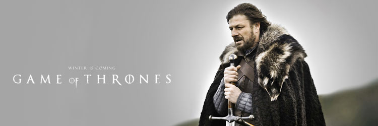 Sean Bean es Ned Stark en Juego de tronos