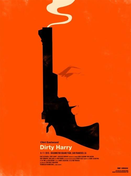 Dirty Harry Mondo Mondo Posters: la magia de los carteles de cine reinterpretada