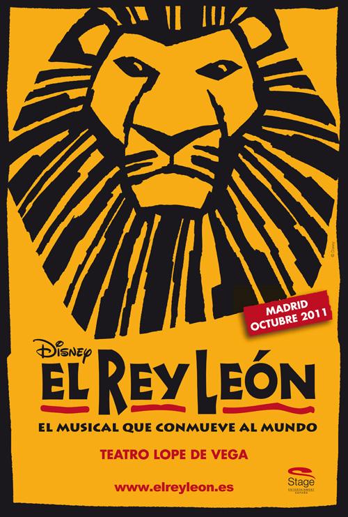 Cartel El Rey León
