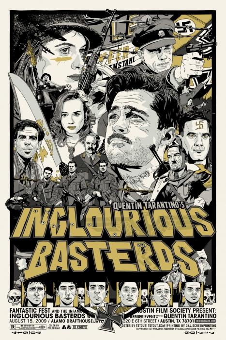 Malditos Bastardos Mondo Mondo Posters: la magia de los carteles de cine reinterpretada