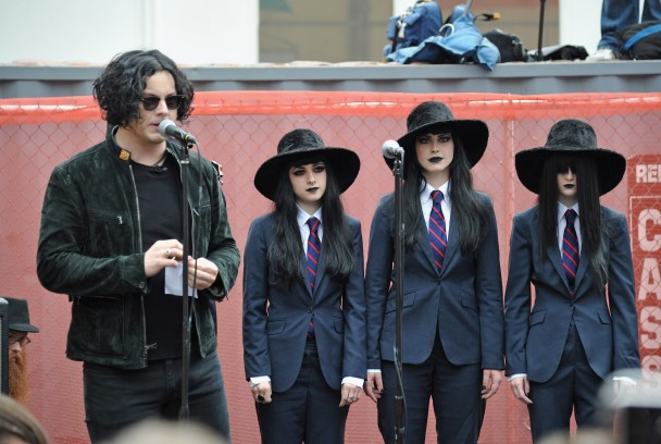 Jack White And The Black Belles