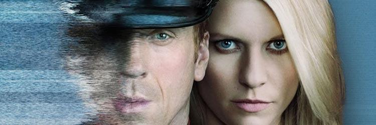 Damian Lewis y Claire Danes en Homeland