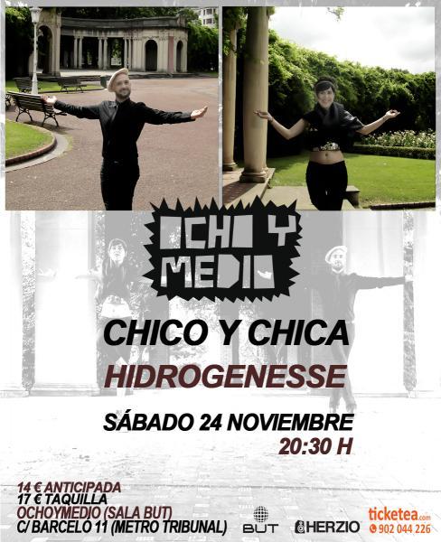chicoychicahidrogenesseochoymedio